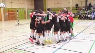 imSpiel 17/2 - SV Sandhausen C-Junioren jubeln bei der Süddeutschen Futsal-Meisterschaft