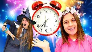 Peri Ayşe cadının Yeni Yıl planını engelliyor ve zamanı geri akıtıyor!