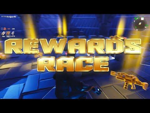 Fortnite Rewards Race | Complete Track For Rewards