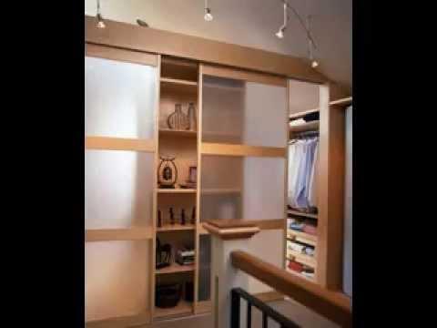 Bedroom closet door decorating ideas - YouTube