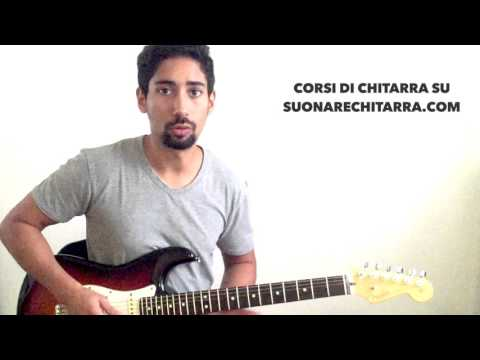 Tutorial Chitarra: Sweet Child O' Mine – Guns N' Roses (Intro)