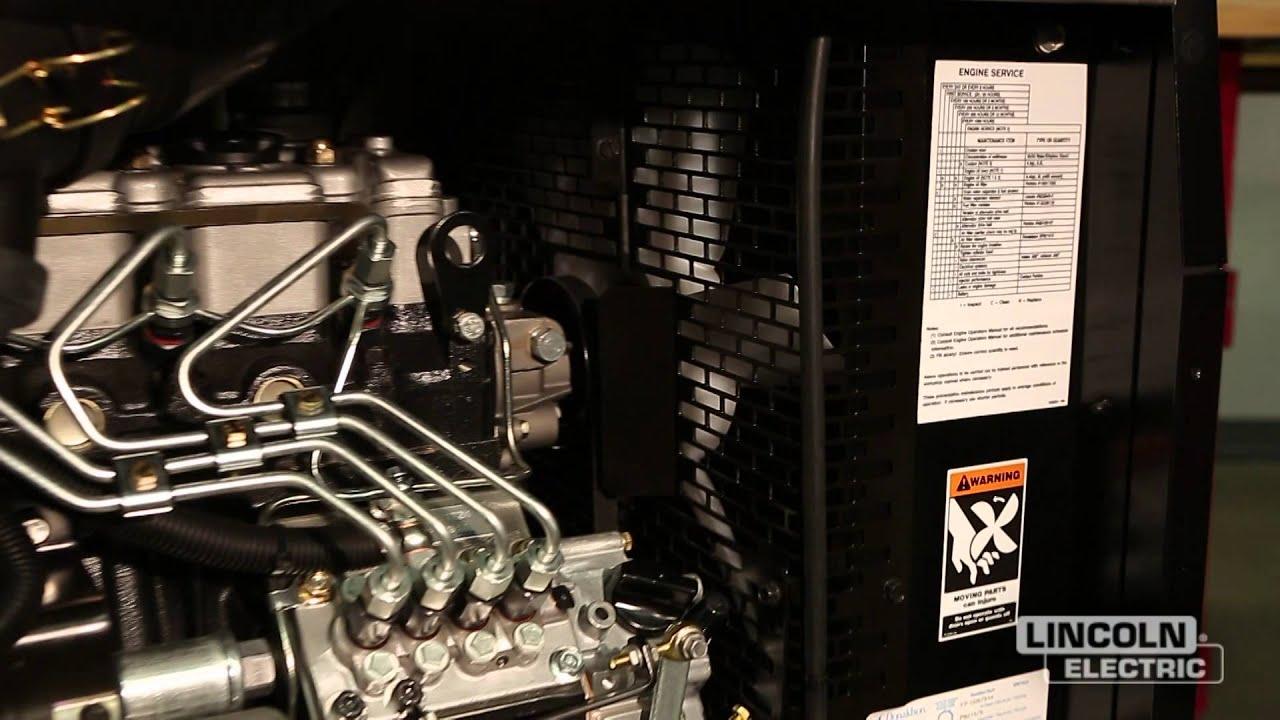 Engine Driven Welder Maintenance