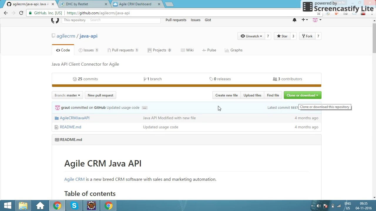 how to create rest api in java