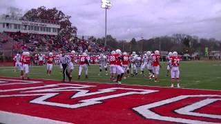 Trine vs Olivet Varsity Football 4th quarter comeback 11-9-2013