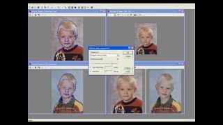 Making of Age Progression Morph