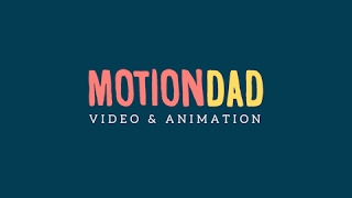 Welcome to MotionDad: Channel Trailer | After Effects and Motion Graphics Tutorials