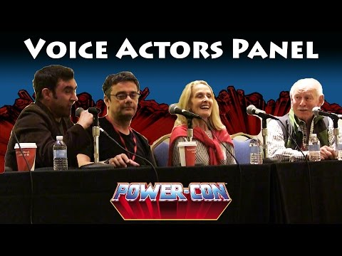 He-Man and She-Ra Voice Actors Panel at Power-Con 2016