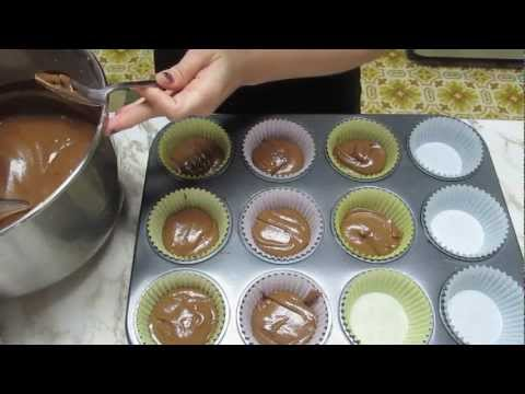 ASMR - Baking Chocolate cupcakes #15