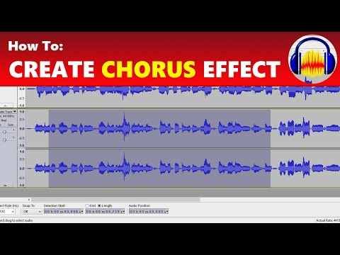 How To: Create a Chorus Effect in Audacity