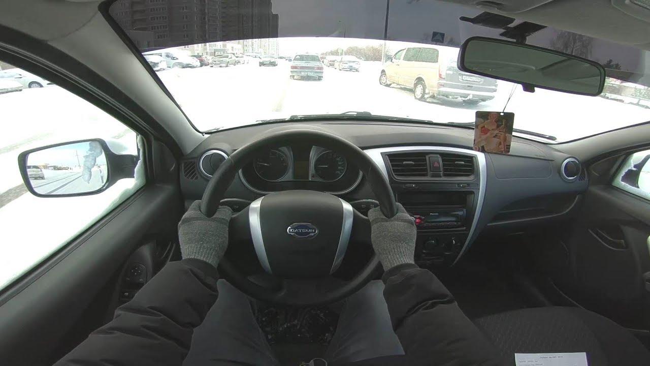 2016 Datsun on-DO 1.6L (87) POV TEST DRIVE