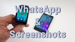 Samsung Gear S: WhatsApp & Screenshots nutzen (deutsch) | AppDated