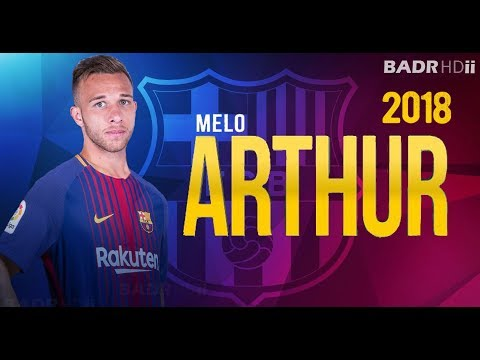 Arthur Melo ● Welcome To Fc Barcelona 2018 ● Skills, Assists & Goals - HD