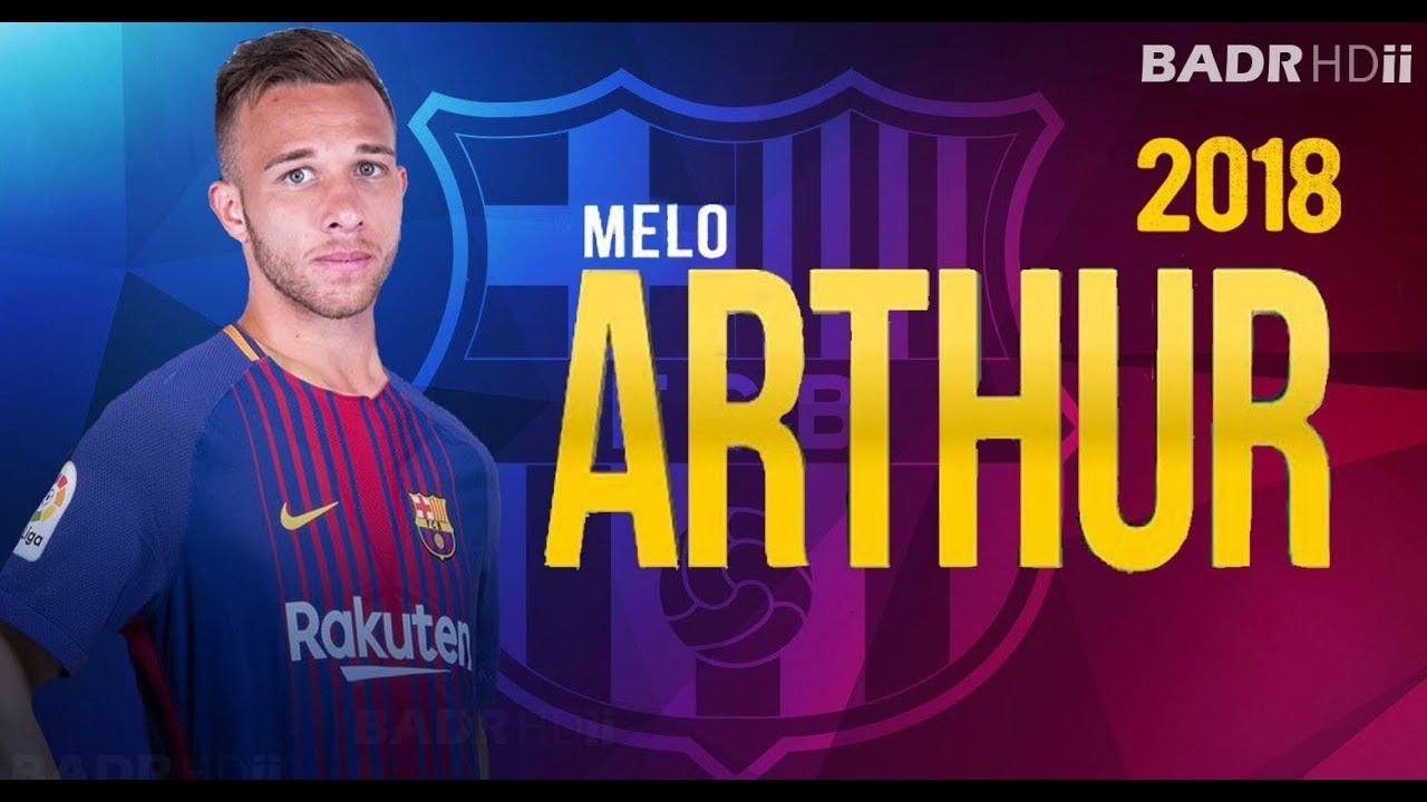cc2379153 Arthur Melo ○ Welcome To Fc Barcelona 2018 ○ Skills