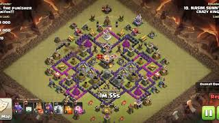 Coc Town Hall 11 dragon attack (rushed base)