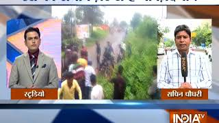 Accident during Bullock Cart race in Maharashtra\'s Kolhapur