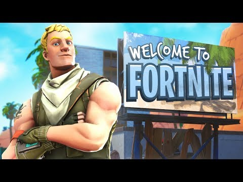 Welcome to Fortnite...