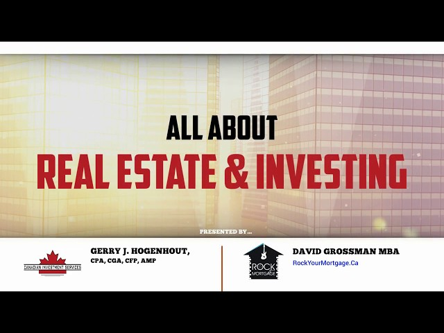 David & Gerry's Real Estate Cafe, Live & Interactive, April 19th 2020 broadcast