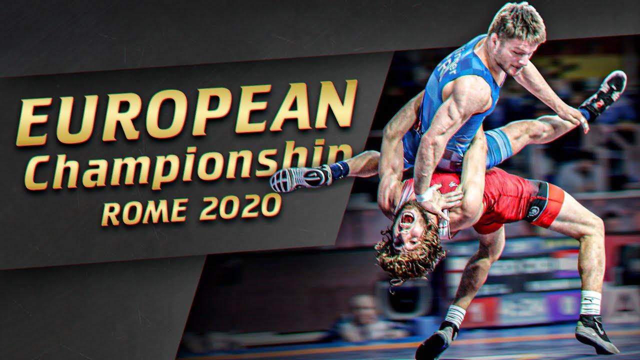Чемпионат Европы 2020 лучшие моменты | WRESTLING