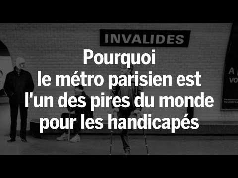 Handicapés : pourquoi le métro parisien est l\'un des pires du monde