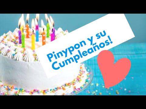 Pin y Pon y su cumpleaños