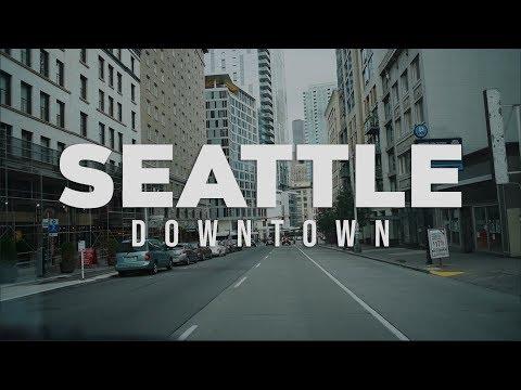 Downtown Seattle, Washington USA 2018