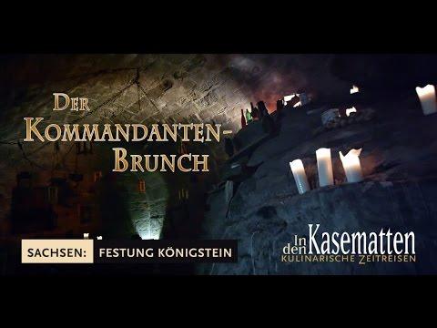 Trailer Kommandanten-Brunch Festung Königstein