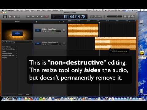 GarageBand: Audio Editing Basics