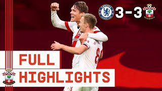 HIGHLIGHTS: Chelsea 3-3 Southampton | Premier League