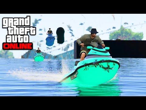 SHARK JET SKI - GTA 5 ONLINE