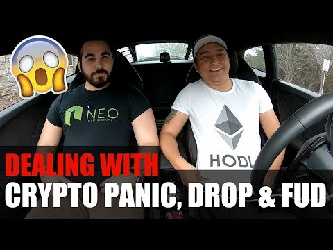 HOW TO DEAL WITH THE CRYPTO PANIC, DROP AND FUD 😱🤬🙄