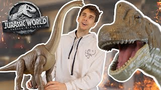 Brachiosaurus Has Survived! | Unboxing Mattel Legacy Brachiosaurus - Jurassic World Unboxing
