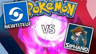 SIPHANO vs NEWTITEUF - Combat Pokémon Y