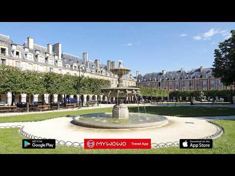 Place Des Vosges – First Part – Paris – Audio Guide – MyWoWo  Travel App