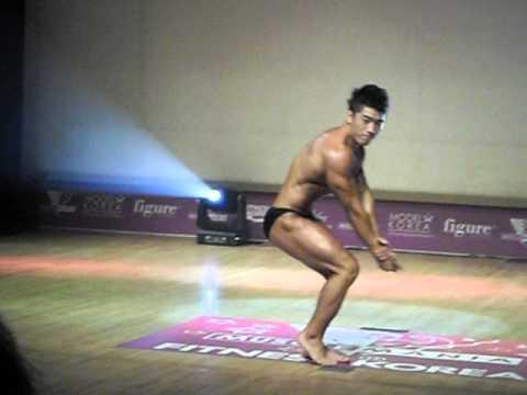 Musclemania Fitness Model 2012 Seoul South Korea Mens -75kg