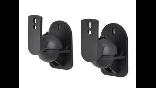 Surround Sound Speaker Mount Pair - |Texonic Model SK5|