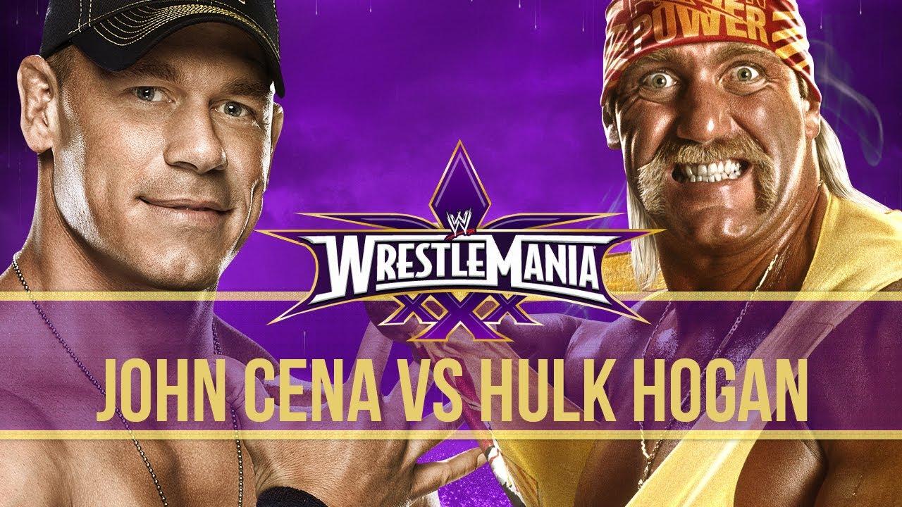 Image result for Hulk Hogan fight match john cena