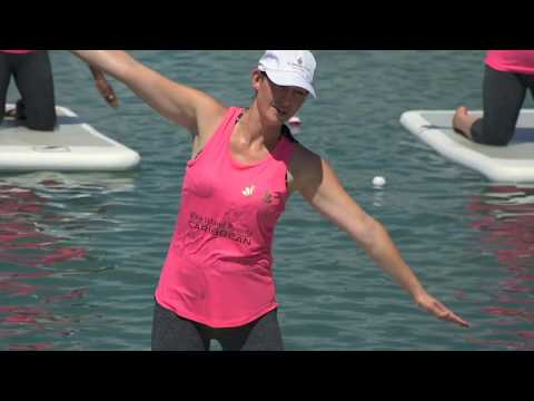 Fitness on water with FloatFit | Antigua