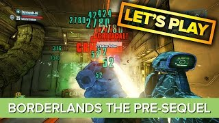 Borderlands The Pre-Sequel Co-op Gameplay - Let