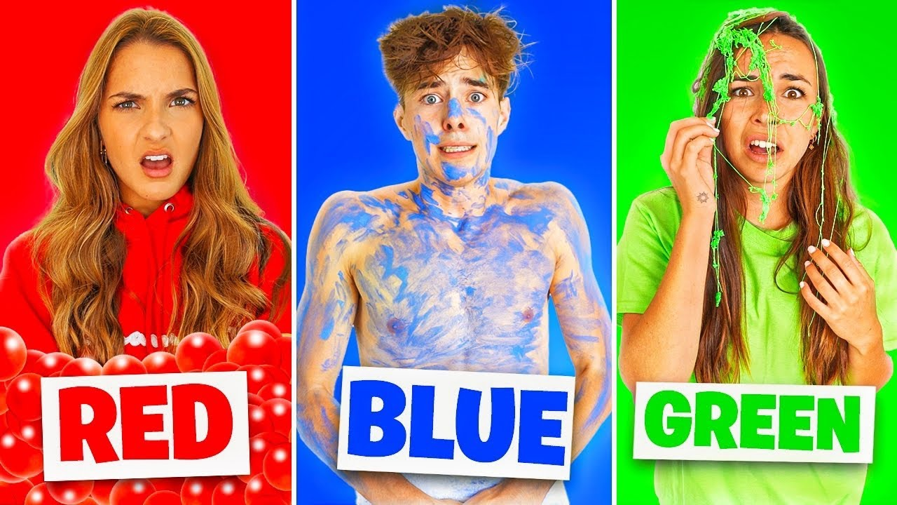 Download PRANKING MY FRIENDS USING ONLY ONE COLOR!!