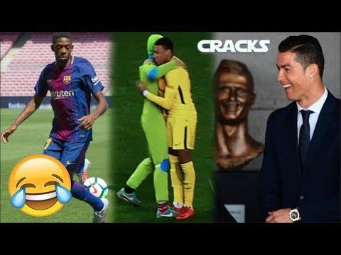 Lo más GRACIOSO del FUTBOL en 2017 | Football funniest moments 2017