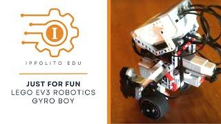 LEGO EV3 Mindstorms Gyro Boy