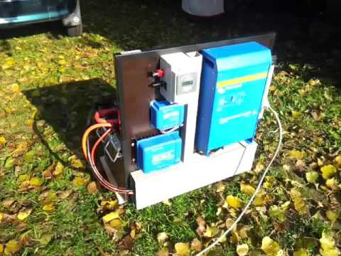 1.6KVA Off-Grid Powerpack ( Victron Energy)  By ON5DI
