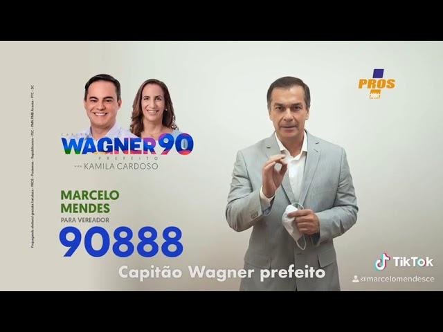 Propaganda Partidária - Marcelo Mendes 90888 - Candidato a Vereador - Fortaleza