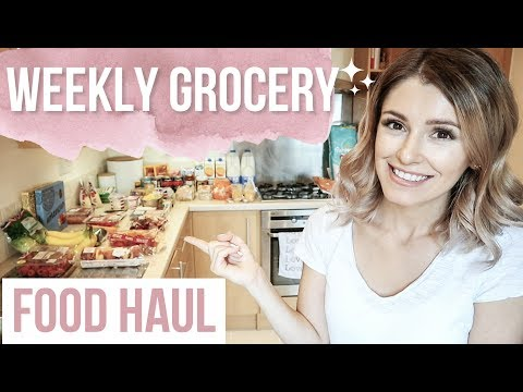 WEEKLY GROCERY HAUL + MEAL PLAN FOR FAMILY OF 3 | TESCO FOOD HAUL | Family Meal Ideas