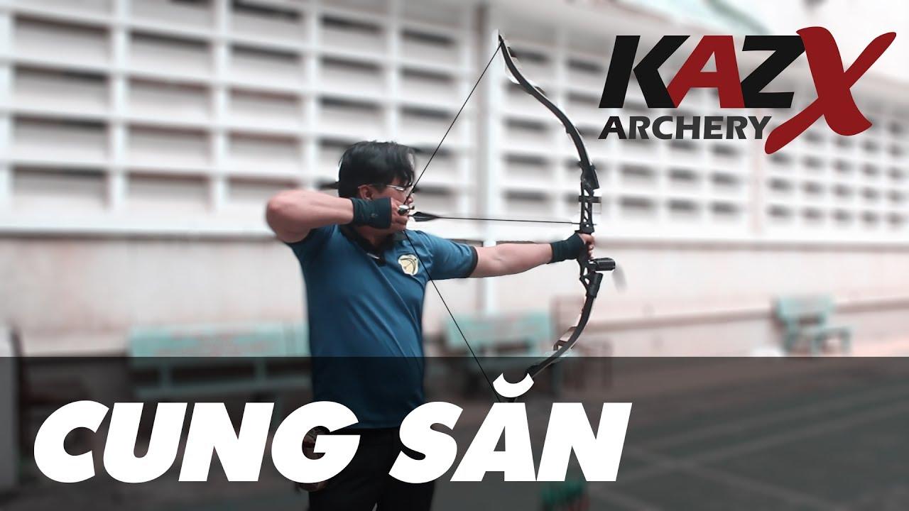 Cung tên săn/thể thao giá rẻ | KM217 | KAZX Archery