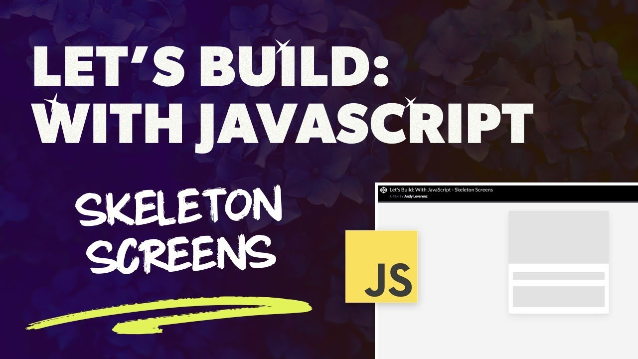 How to Create a Skeleton Screen Loading Effect – Web-Crunch
