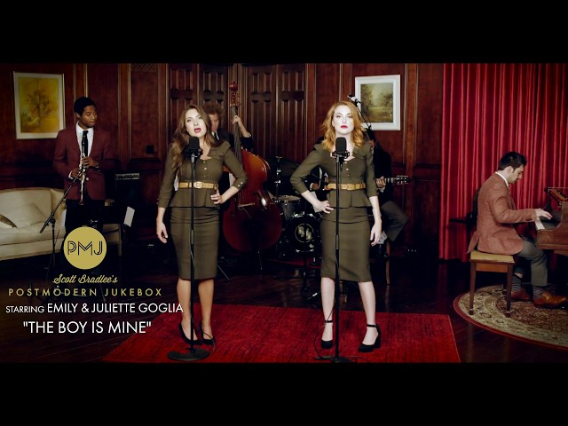 The Boy Is Mine - Brandy & Monica (Vintage '40s Cover) ft. Emily & Juliette Goglia