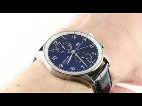 IWC Portuguese Laureus Limited Edition IW3714-32 Luxury Watch Review