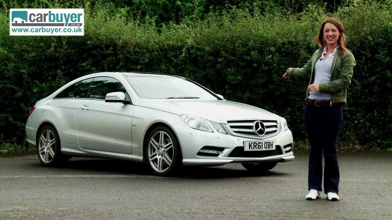 Mercedes E Class Coupe 2009 2013 Review Carbuyer Youtube