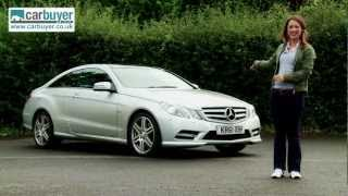 Mercedes E-Class coupe (2009-2013) review - CarBuyer